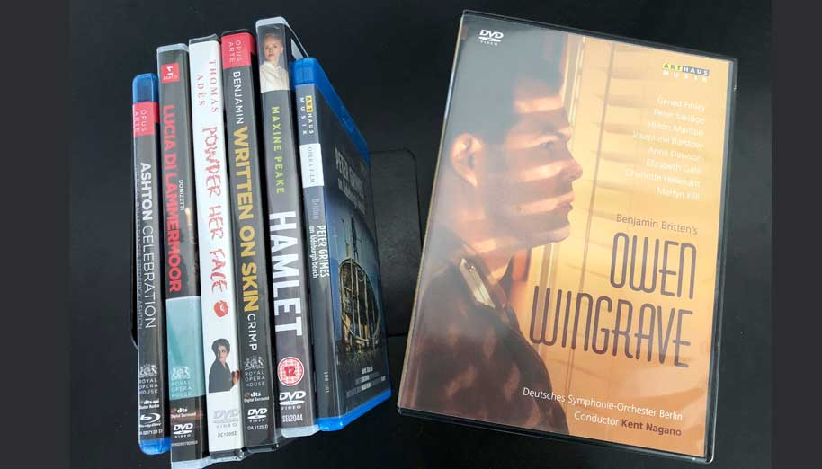 Owen Wingrave DVD