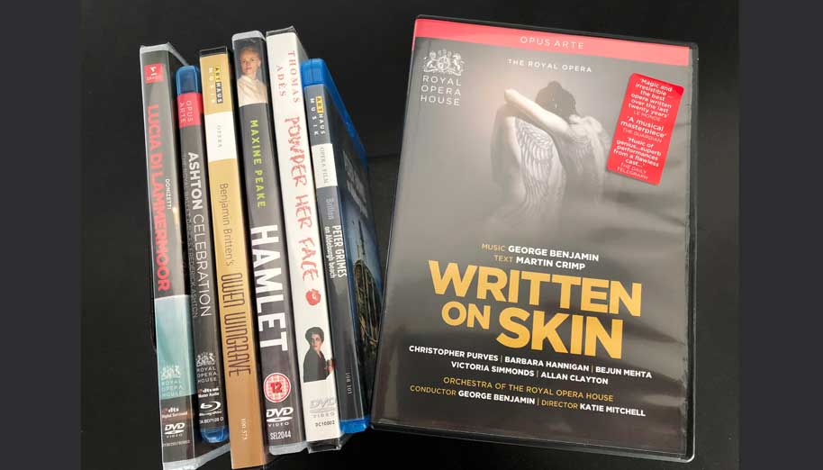 Written on Skin DVD