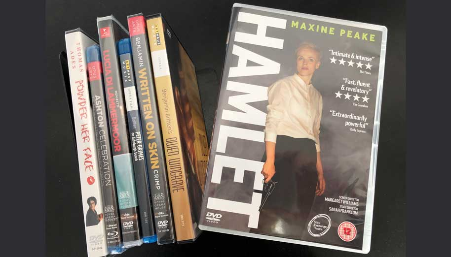 Hamlet the film DVD