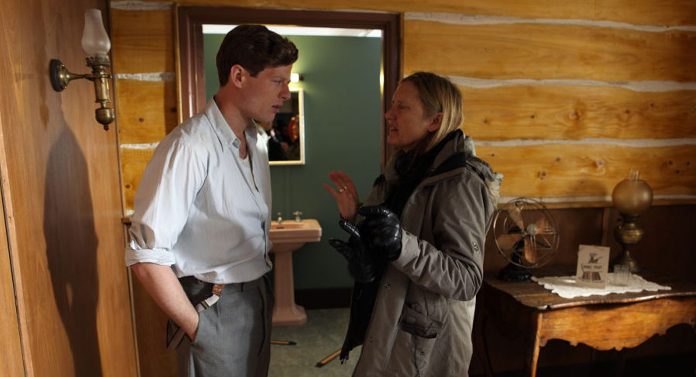 Margaret Williams directing James Norton