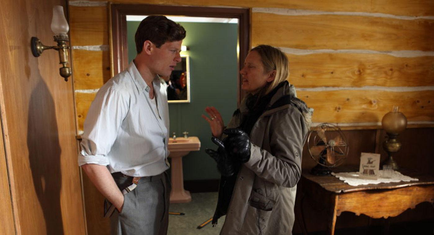 Margaret Williams directing James Norton