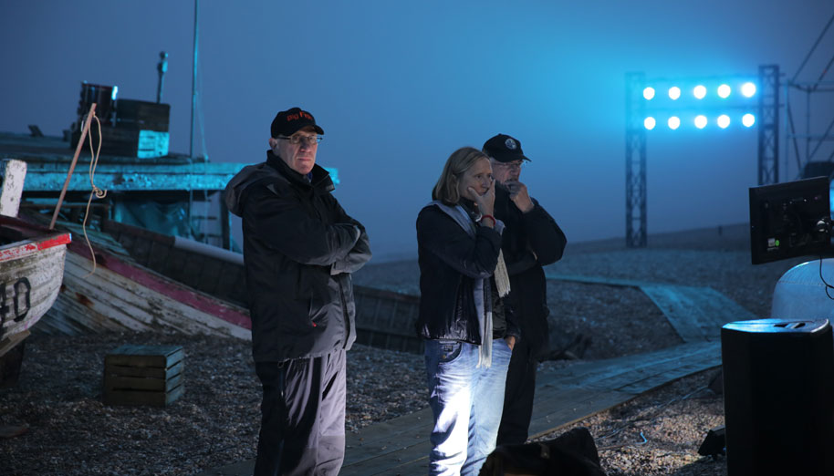 Filming of PETER GRIMES ON ALDEBURGH BEACH