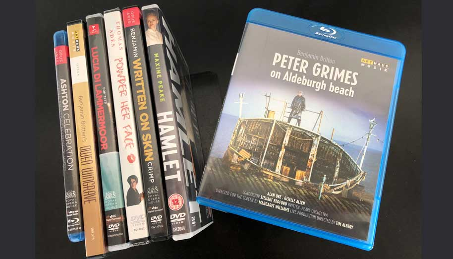PETER GRIMES ON ALDEBURGH BEACH on DVD