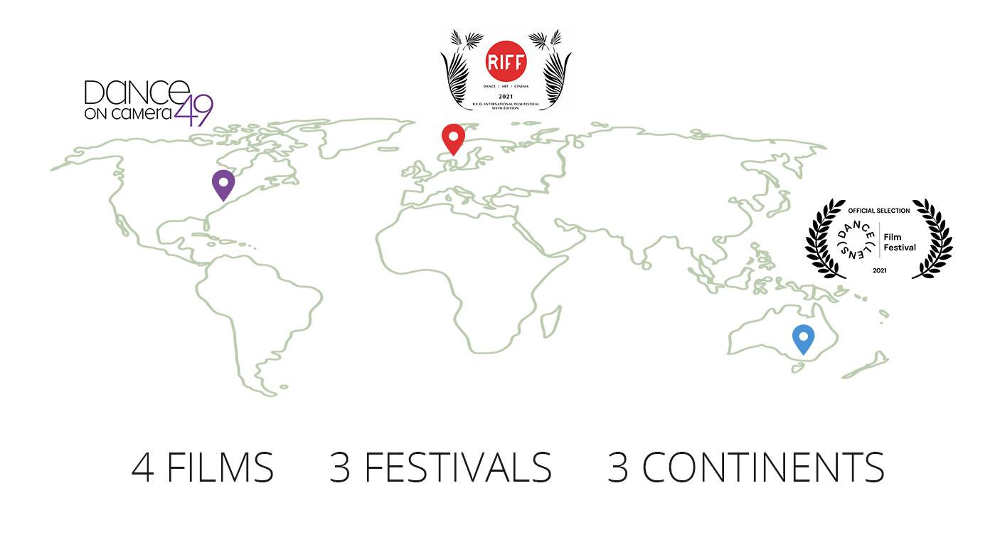 4 Films 3 Festivals 3 Continents